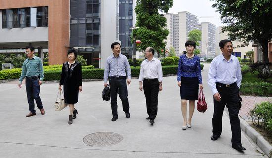 江苏省华杰双语学校代表造访我校 -新闻资讯黄冈中学广州学校,黄冈