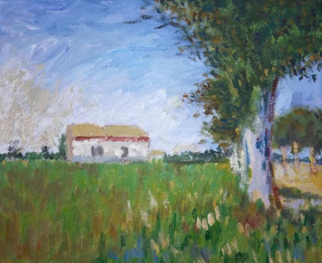 向印象派大师致敬 临摹是油画学习中重要的环节,艺术大师的作品从